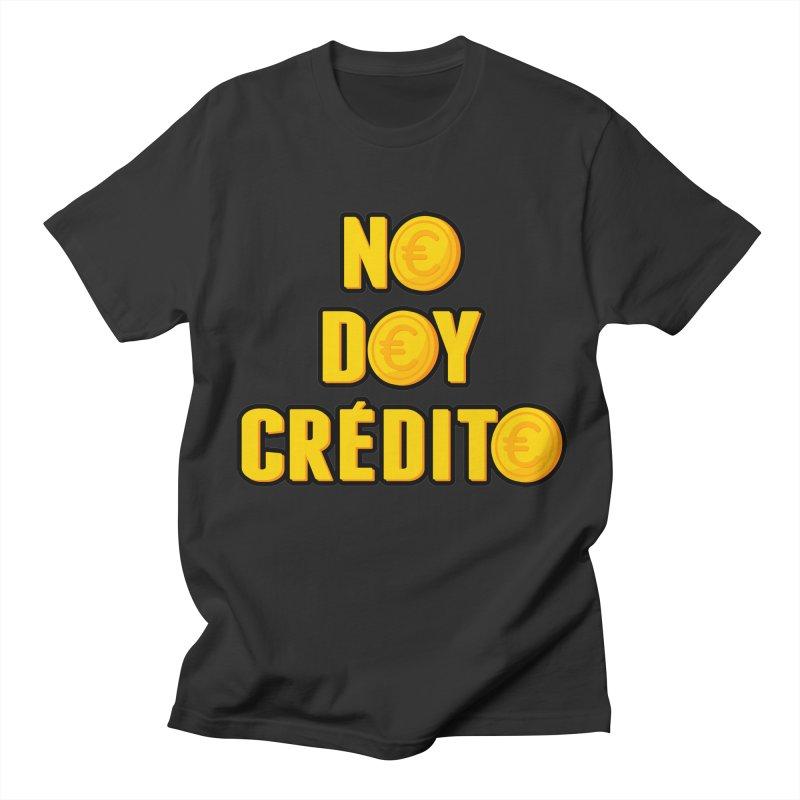 NO DOY CRÉDITO Men's Regular T-Shirt by mrdelman's Artist Shop