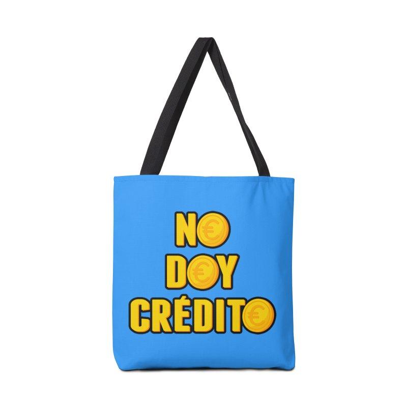 NO DOY CRÉDITO Accessories Tote Bag Bag by mrdelman's Artist Shop