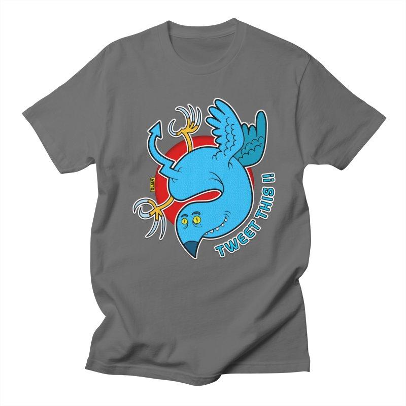 Mr. Tweety Men's T-Shirt by mrdelman's Artist Shop