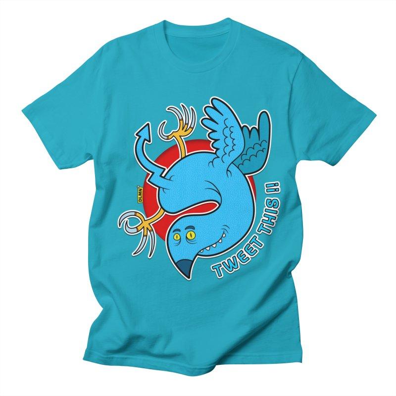 Mr. Tweety Men's Regular T-Shirt by mrdelman's Artist Shop