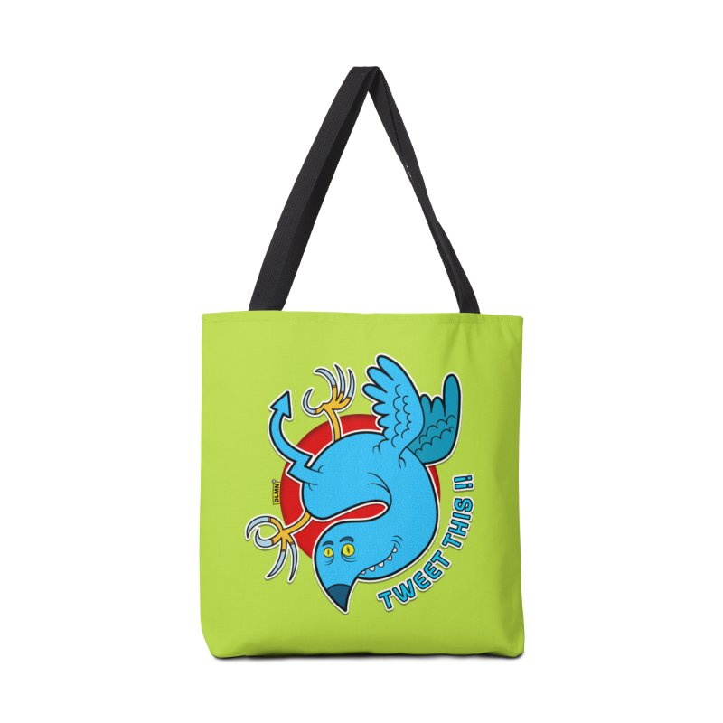Mr. Tweety Accessories Tote Bag Bag by mrdelman's Artist Shop
