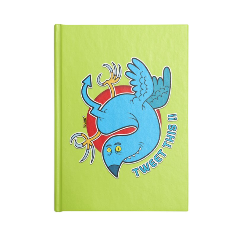 Mr. Tweety Accessories Blank Journal Notebook by mrdelman's Artist Shop