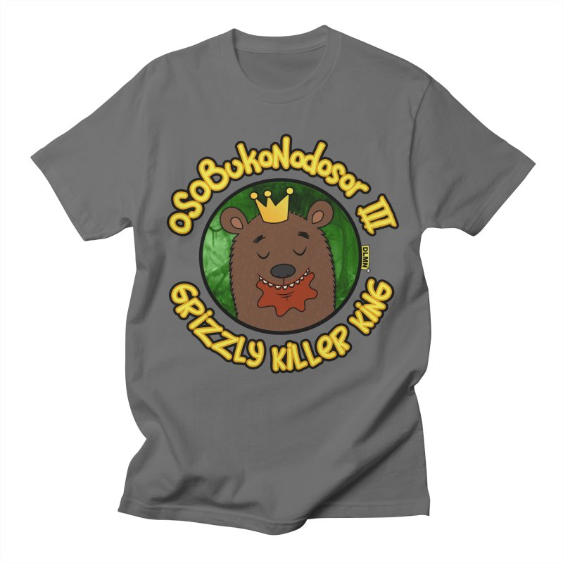 OSOBUKONODOSOR III - Grizzly Killer King - (Satisfied version) Men's T-Shirt by mrdelman's Artist Shop