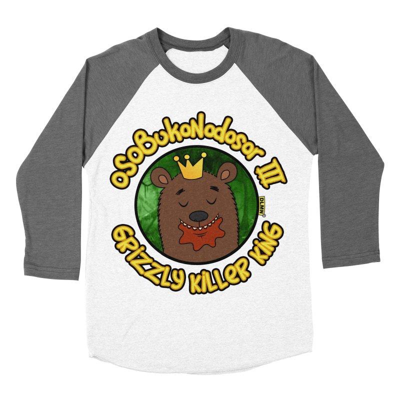 OSOBUKONODOSOR III - Grizzly Killer King - (Satisfied version) Women's Longsleeve T-Shirt by mrdelman's Artist Shop