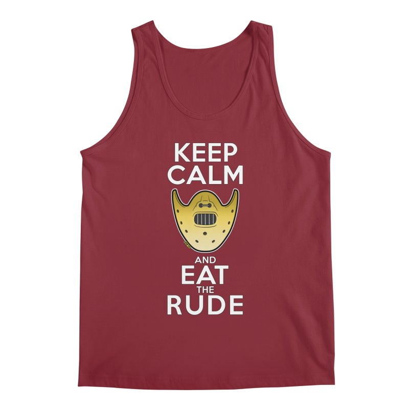 KEEP CALM AND EAT THE RUDE!! Men's Tank by mrdelman's Artist Shop