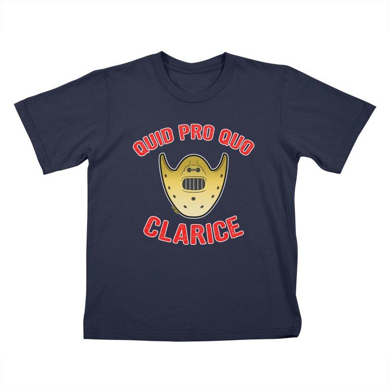Quid pro quo, Clarice... Kids Toddler T-Shirt by mrdelman's Artist Shop