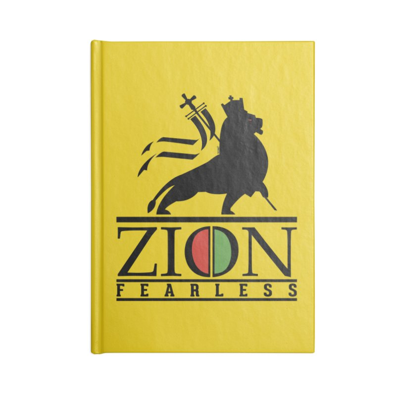 Iron Lion Zion Accessories Blank Journal Notebook by mrdelman's Artist Shop