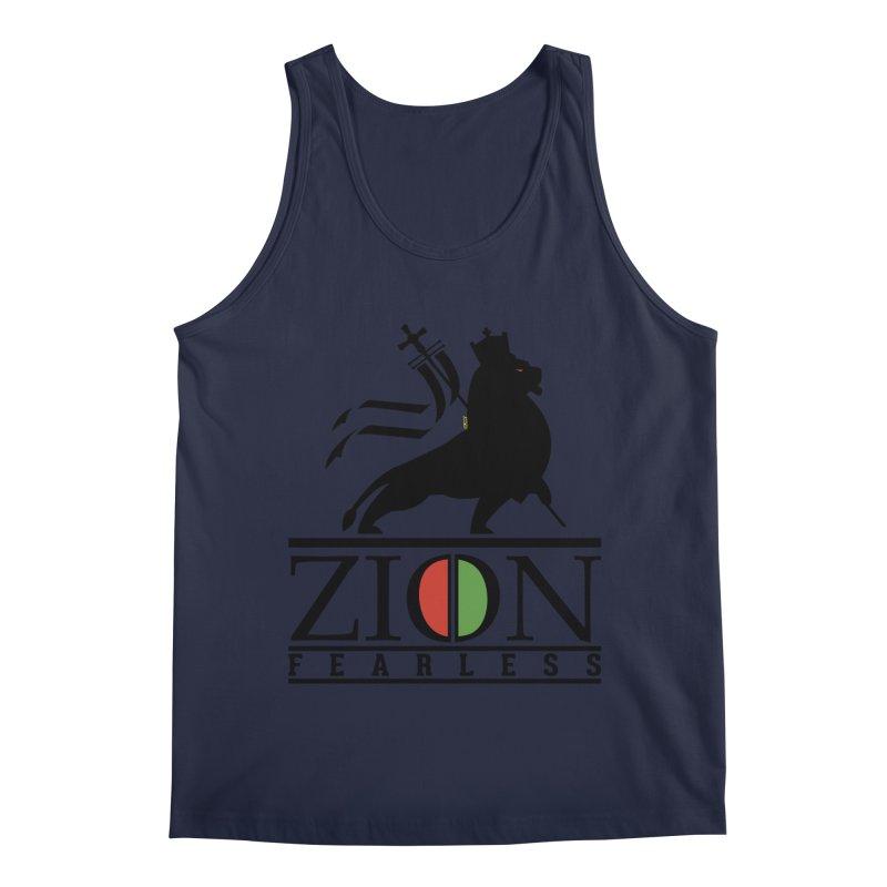 Iron Lion Zion Men's Regular Tank by mrdelman's Artist Shop