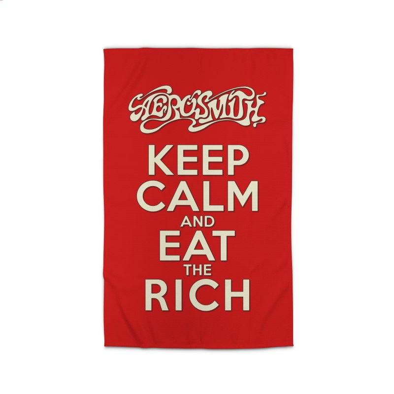 Aerosmith - Keep Calm and Eat the Rich Home Rug by mrdelman's Artist Shop