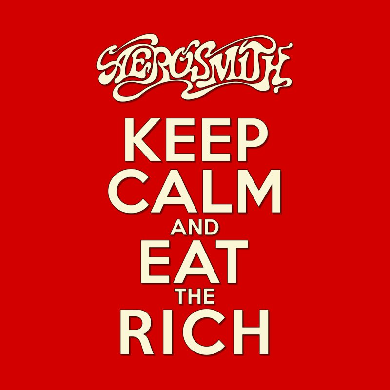 Aerosmith - Keep Calm and Eat the Rich Accessories Notebook by mrdelman's Artist Shop