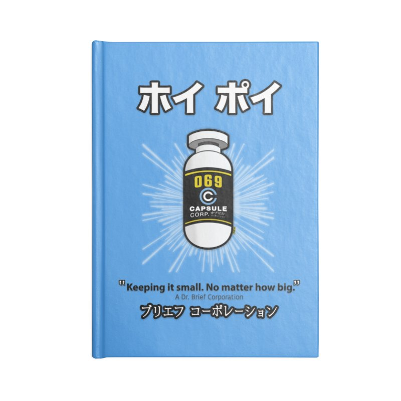 Hoi Poi Capsule Num. 069 Accessories Blank Journal Notebook by mrdelman's Artist Shop
