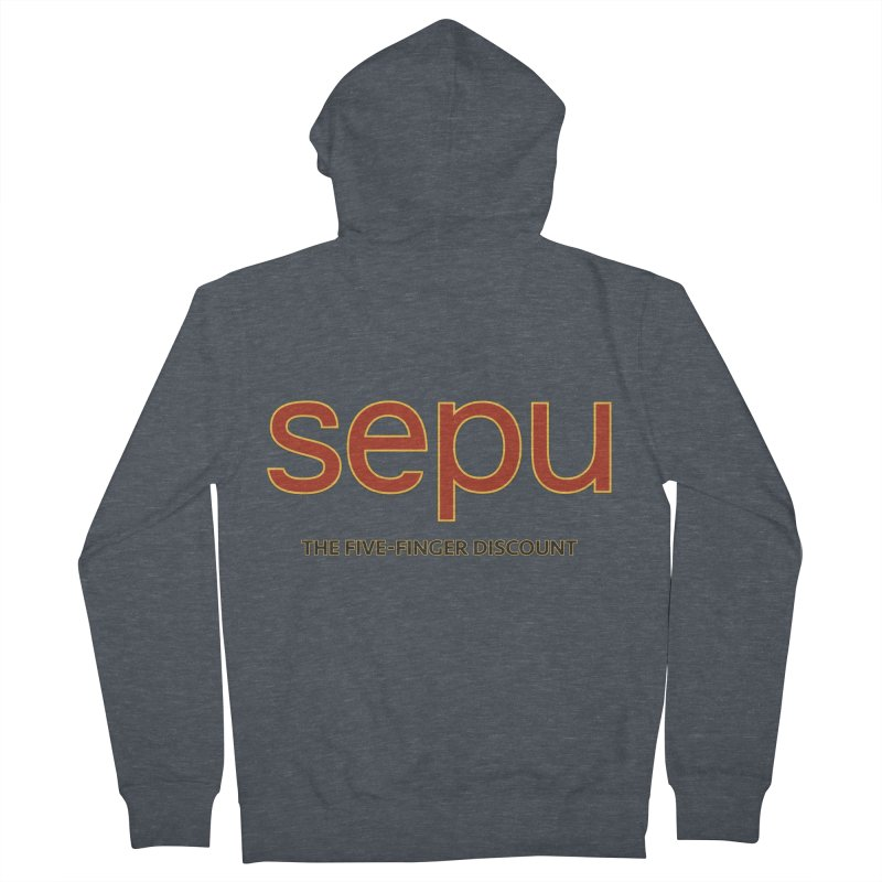 SEPU, your favorite spanish shopping mall Women's French Terry Zip-Up Hoody by mrdelman's Artist Shop