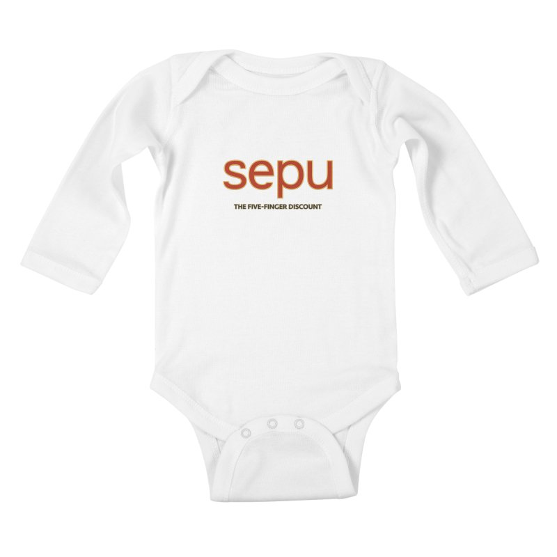 SEPU, your favorite spanish shopping mall Kids Baby Longsleeve Bodysuit by mrdelman's Artist Shop