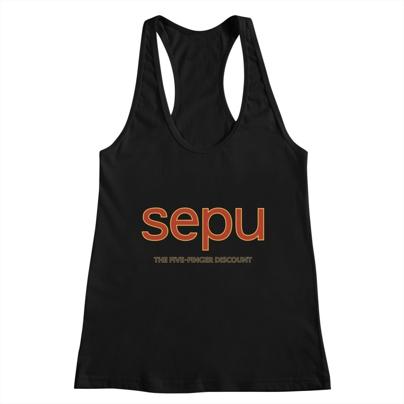 SEPU, your favorite spanish shopping mall Women's Tank by mrdelman's Artist Shop