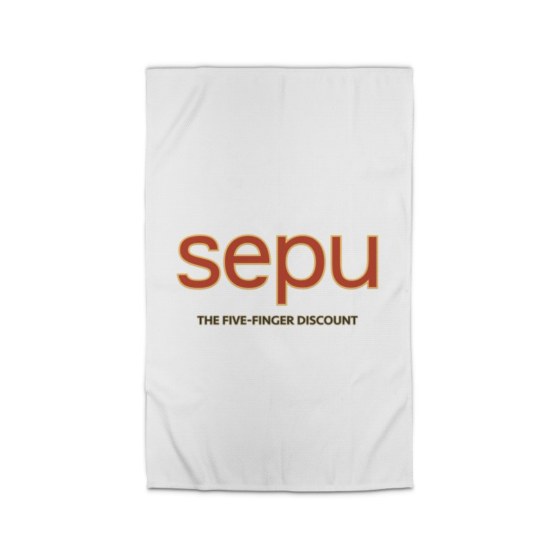 SEPU, your favorite spanish shopping mall Home Rug by mrdelman's Artist Shop