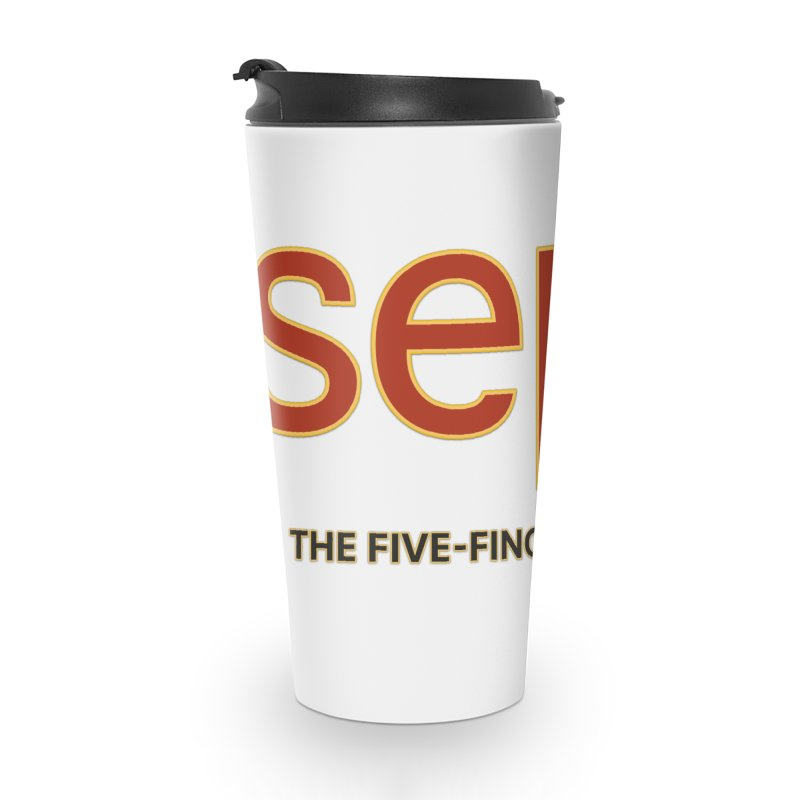 SEPU, your favorite spanish shopping mall Accessories Travel Mug by mrdelman's Artist Shop