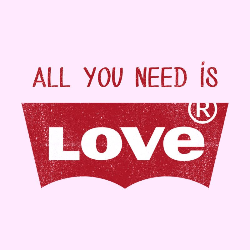 All you need is LOVE ® Accessories Zip Pouch by mrdelman's Artist Shop