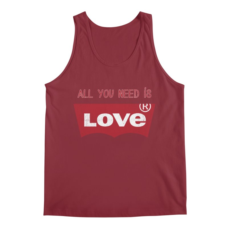All you need is LOVE ® Men's Tank by mrdelman's Artist Shop
