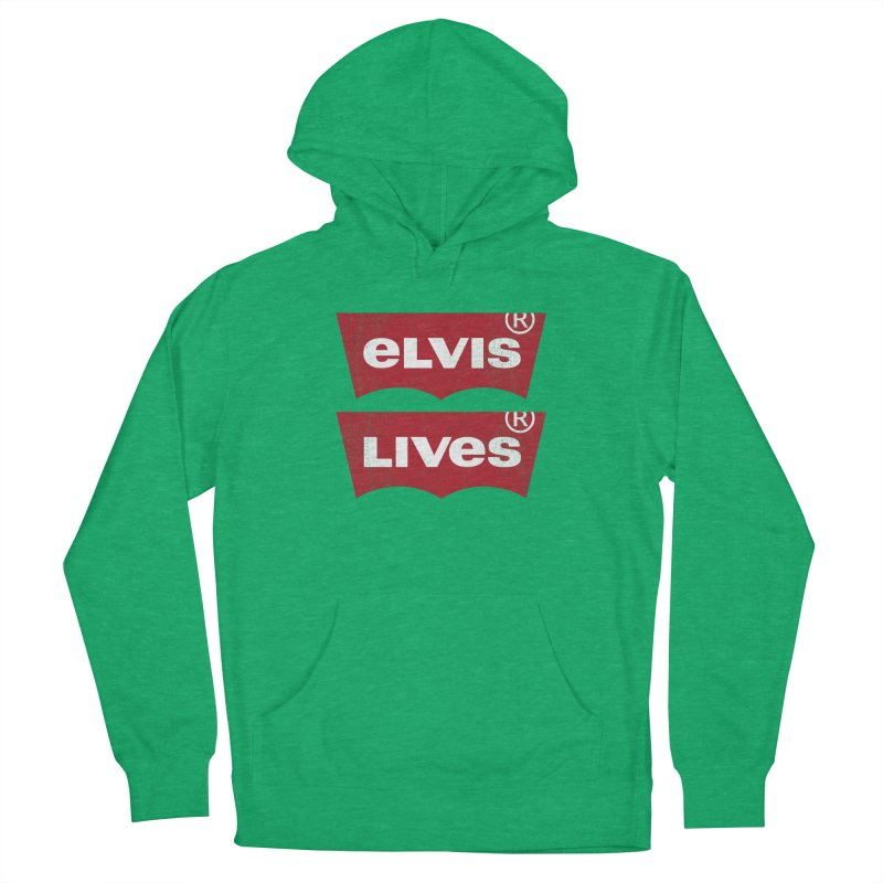Elvis Lives! - (v2) Women's Pullover Hoody by mrdelman's Artist Shop