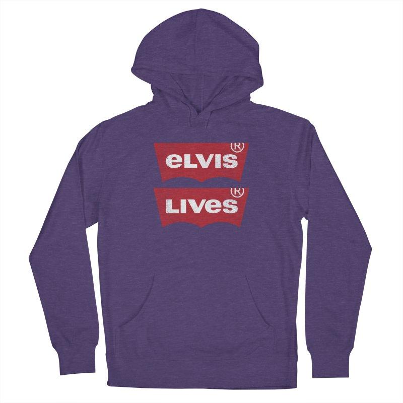 Elvis Lives! - (v2) Women's Pullover Hoody by mrdelman's Artist Shop