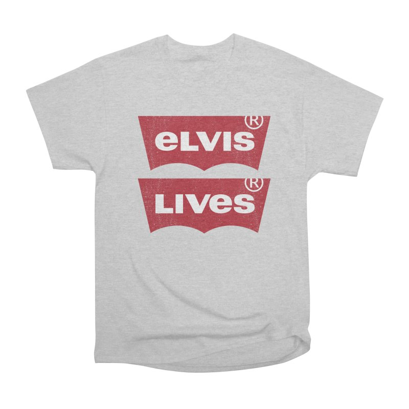 Elvis Lives! - (v2) Men's Classic T-Shirt by mrdelman's Artist Shop