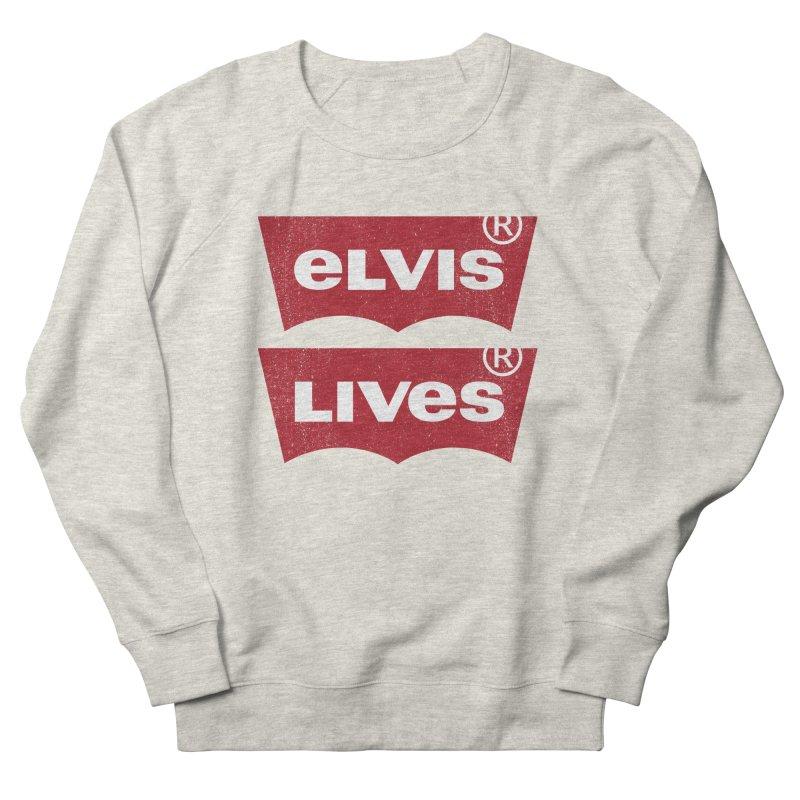 Elvis Lives! - (v2) Women's Sweatshirt by mrdelman's Artist Shop