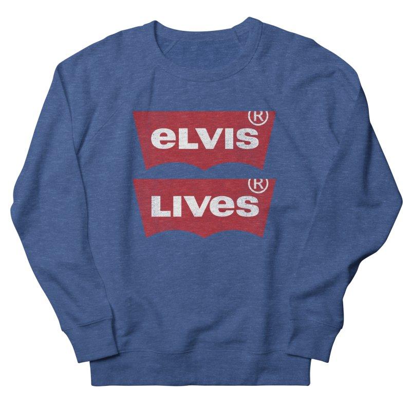 Elvis Lives! - (v2) Men's Sweatshirt by mrdelman's Artist Shop