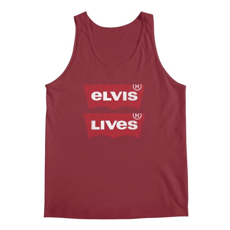 Elvis Lives! - (v2) Men's Tank by mrdelman's Artist Shop