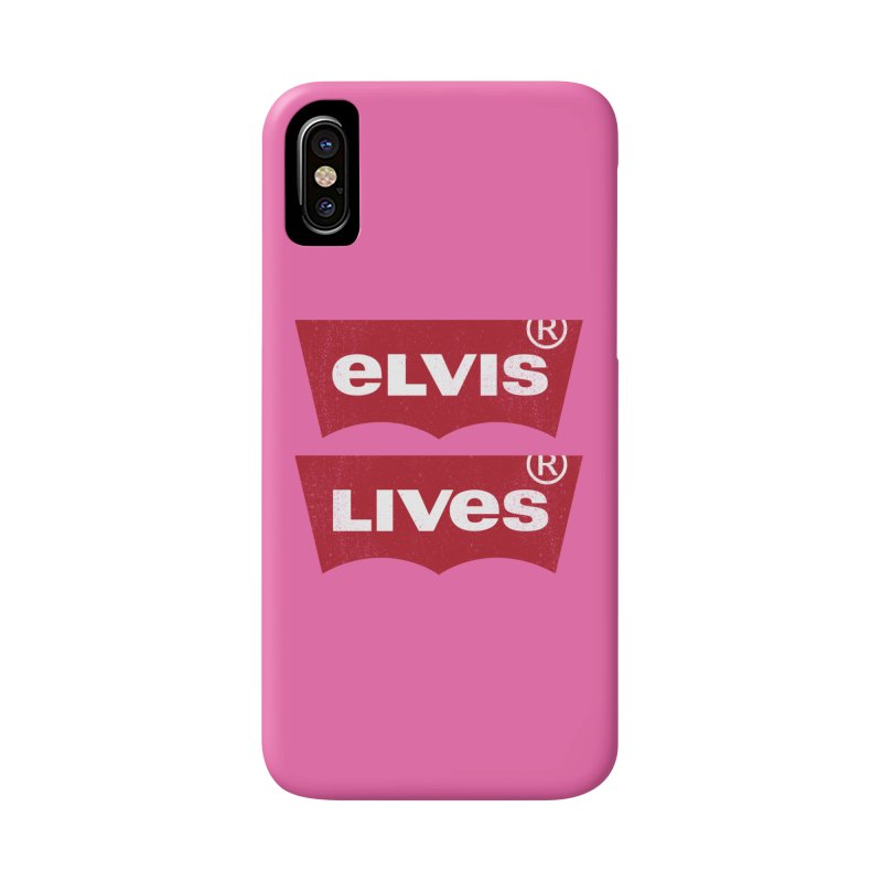 Elvis Lives! - (v2) Accessories Phone Case by mrdelman's Artist Shop