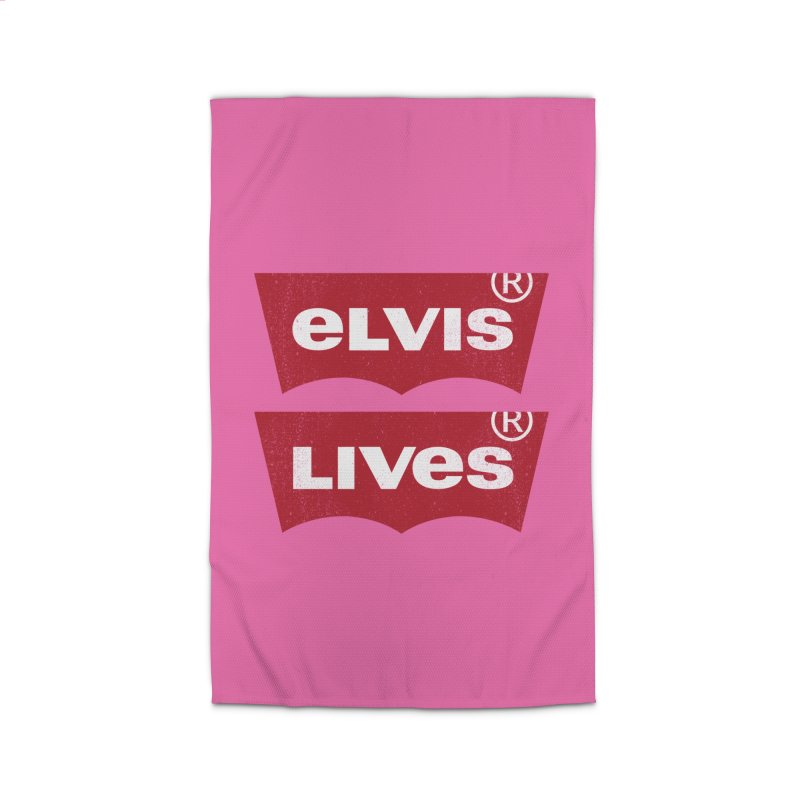 Elvis Lives! - (v2) Home Rug by mrdelman's Artist Shop
