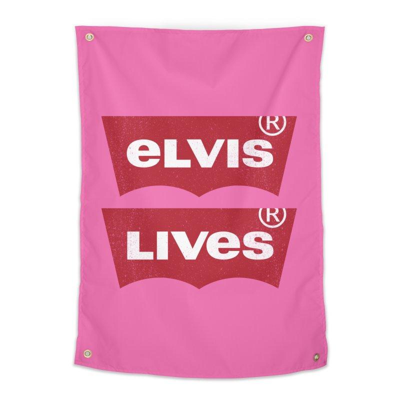 Elvis Lives! - (v2) Home Tapestry by mrdelman's Artist Shop