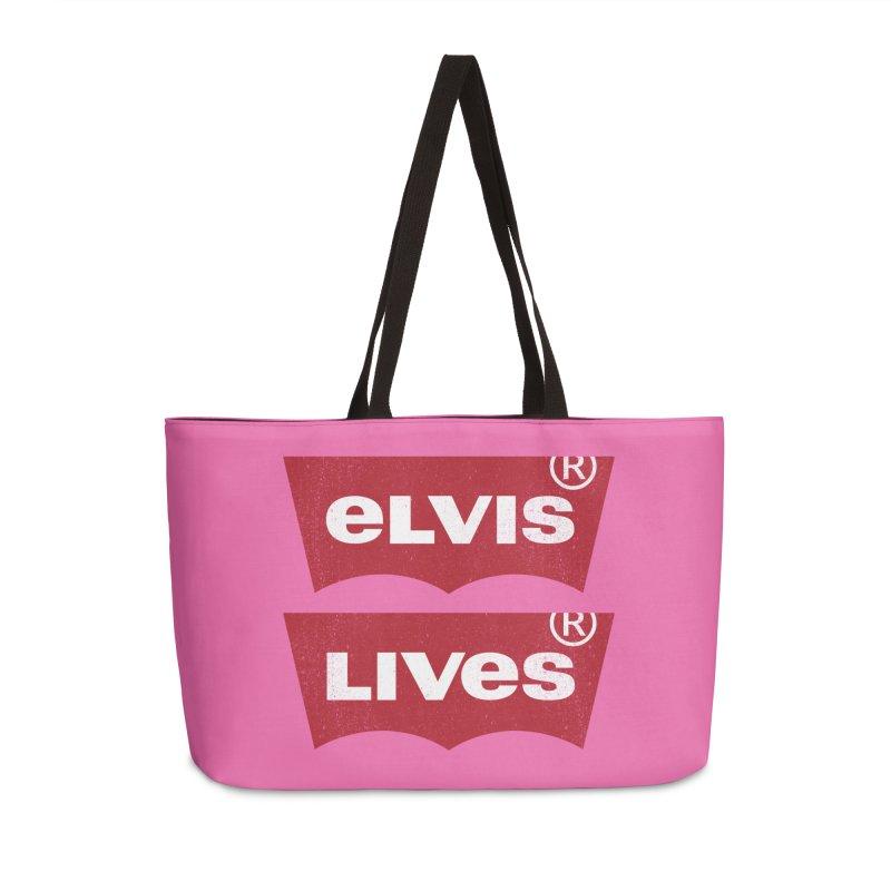 Elvis Lives! - (v2) Accessories Bag by mrdelman's Artist Shop