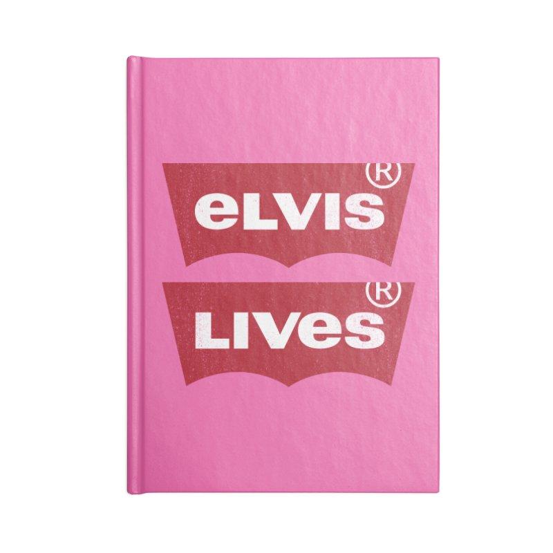 Elvis Lives! - (v2) Accessories Notebook by mrdelman's Artist Shop