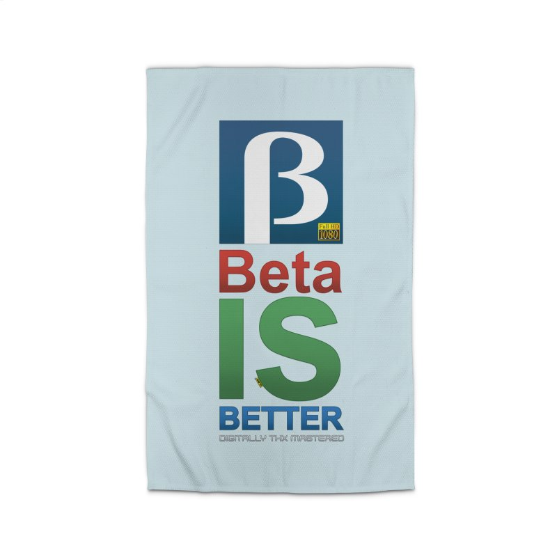 BETA IS BETTER Home Rug by mrdelman's Artist Shop