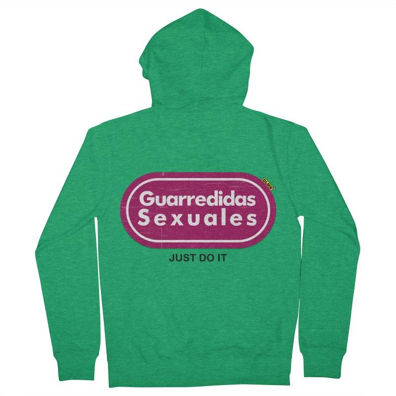 Guarredidas Sexuales Women's Zip-Up Hoody by mrdelman's Artist Shop