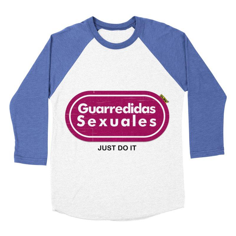 Guarredidas Sexuales Women's Baseball Triblend Longsleeve T-Shirt by mrdelman's Artist Shop
