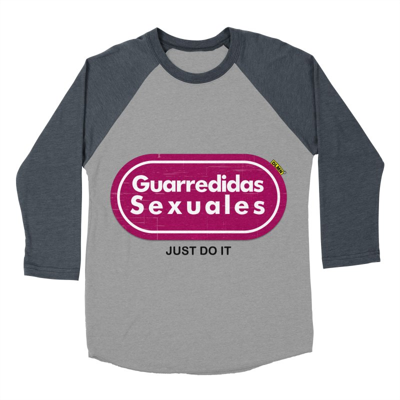 Guarredidas Sexuales Women's Baseball Triblend T-Shirt by mrdelman's Artist Shop