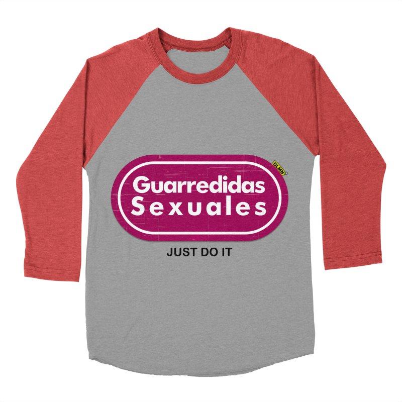 Guarredidas Sexuales Men's Baseball Triblend T-Shirt by mrdelman's Artist Shop