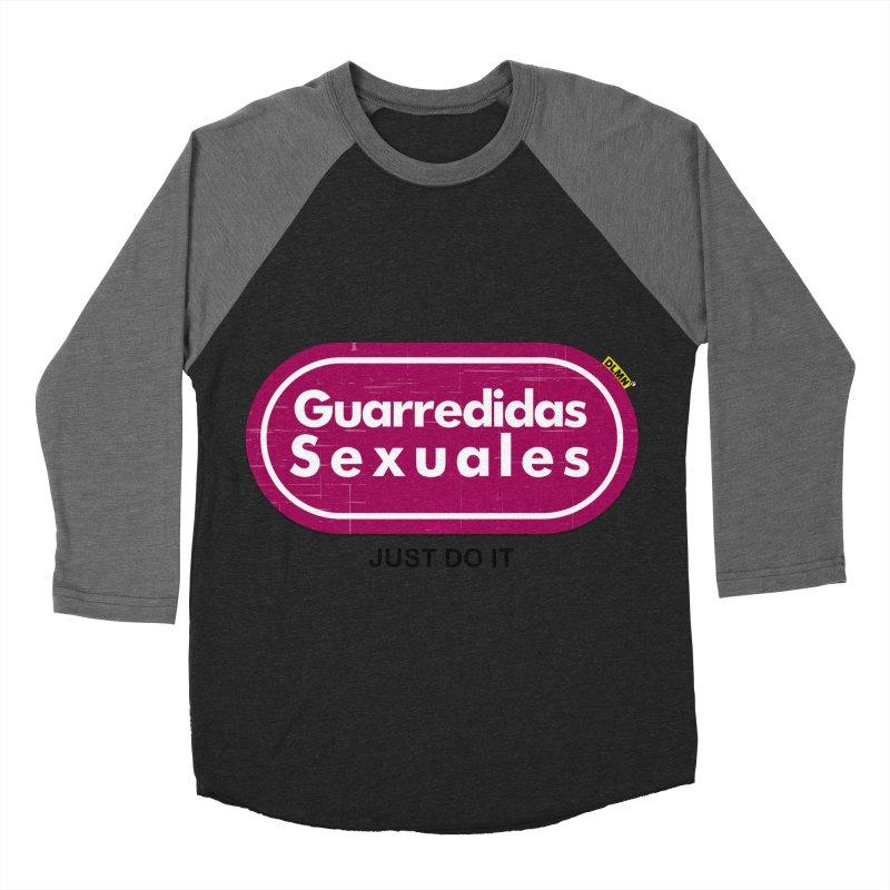 Guarredidas Sexuales Men's Baseball Triblend Longsleeve T-Shirt by mrdelman's Artist Shop