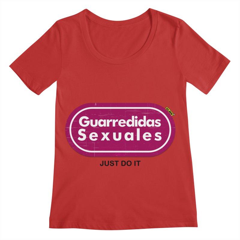 Guarredidas Sexuales Women's Regular Scoop Neck by mrdelman's Artist Shop