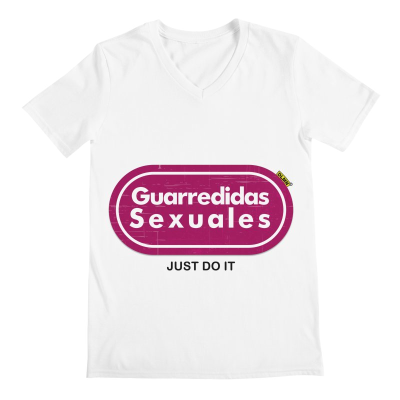 Guarredidas Sexuales Men's V-Neck by mrdelman's Artist Shop