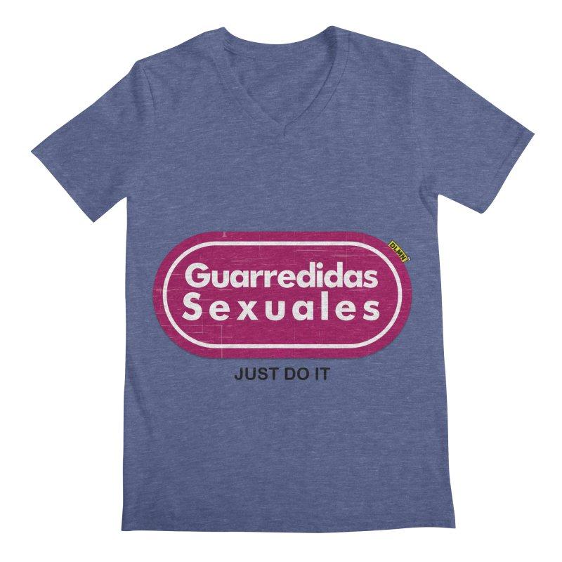 Guarredidas Sexuales Men's Regular V-Neck by mrdelman's Artist Shop