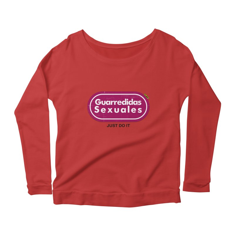 Guarredidas Sexuales Women's Scoop Neck Longsleeve T-Shirt by mrdelman's Artist Shop