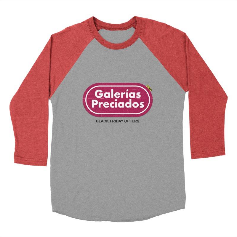 Galerías Preciados Women's Baseball Triblend Longsleeve T-Shirt by mrdelman's Artist Shop
