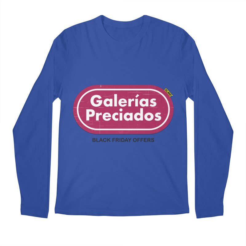Galerías Preciados Men's Regular Longsleeve T-Shirt by mrdelman's Artist Shop