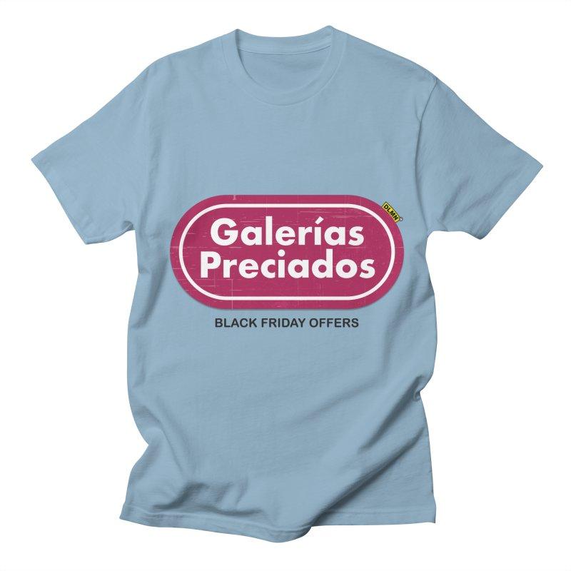 Galerías Preciados Men's Regular T-Shirt by mrdelman's Artist Shop