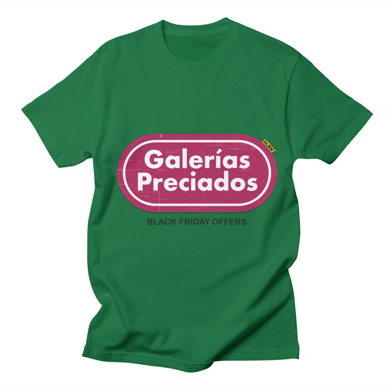 Galerías Preciados Men's Regular T-Shirt by mrdelman's Artist Shop