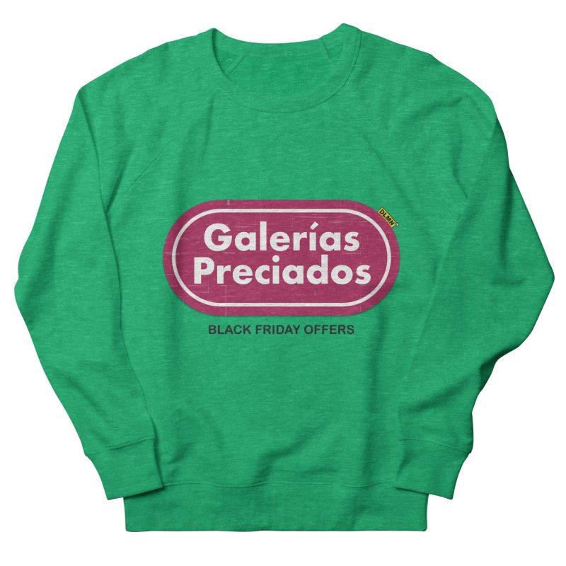 Galerías Preciados Men's French Terry Sweatshirt by mrdelman's Artist Shop