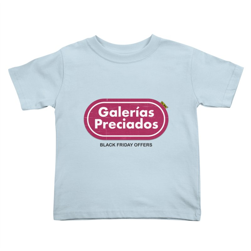 Galerías Preciados Kids Toddler T-Shirt by mrdelman's Artist Shop