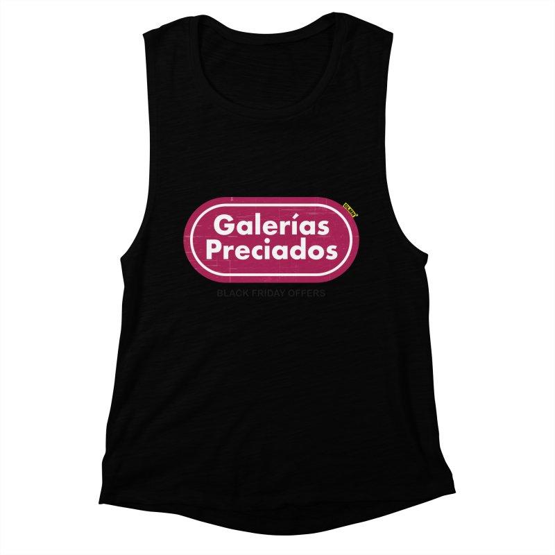 Galerías Preciados Women's Tank by mrdelman's Artist Shop